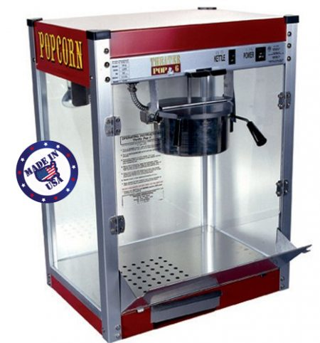 6oz Paragon Popcorn Machine