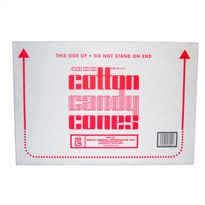 Case of 4000 Candyfloss Cones