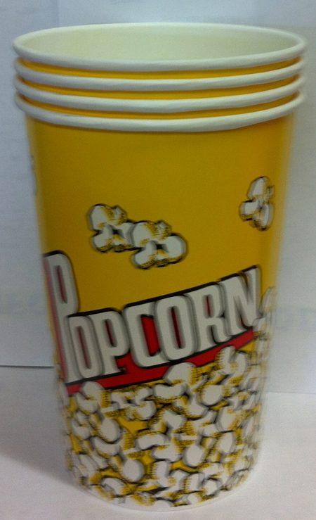 2oz Round Popcorn Tub