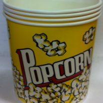4oz Round Popcorn Tub